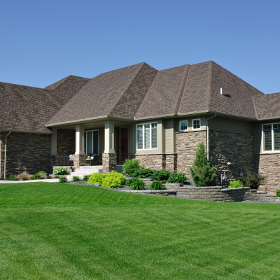Landscaping Enhancess Appearance Of House
